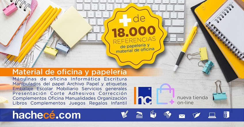 Tienda on-line material de oficina y papelería
